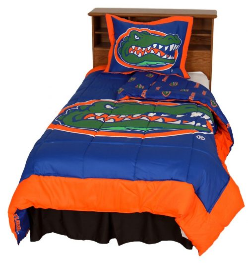 Florida Gators Reversible Comforter Set (Queen)
