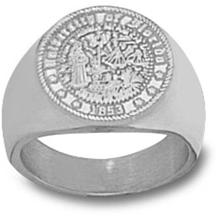 "Florida Gators ""Seal"" Men's Ring Size 10 1/2 - Sterling Silver Jewelry"