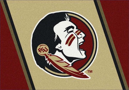 "Florida State Seminoles 3'10""x 5'4"" Team Spirit Area Rug"