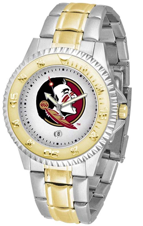 Florida State Seminoles Competitor Two Tone Watch