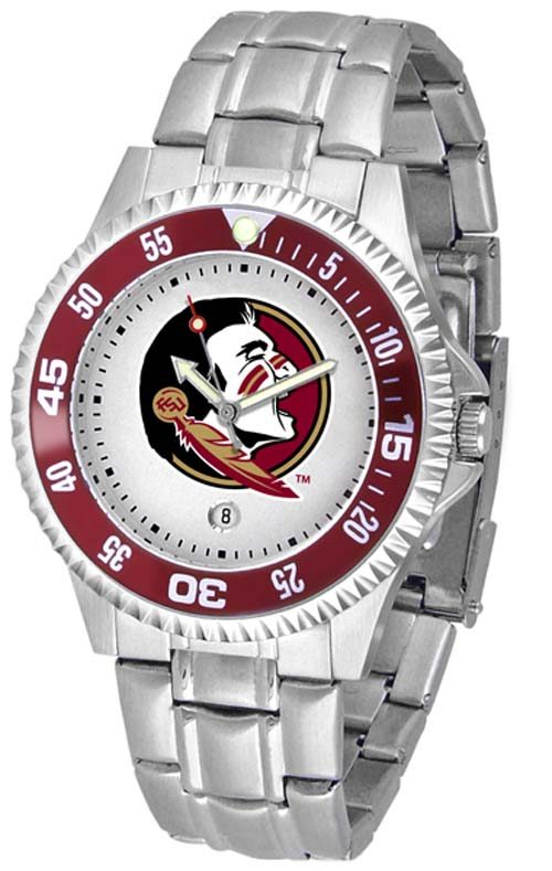 Florida State Seminoles Competitor Watch with a Metal Band