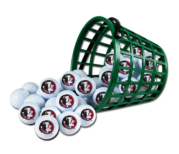 Florida State Seminoles Golf Ball Bucket (36 Balls)