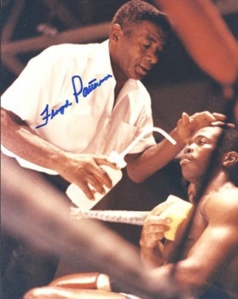 "Floyd Patterson Autographed Boxing 8"" x 10"" Photograph (Unframed)"