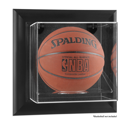 Framed Wall Mounted Basketball Display Case