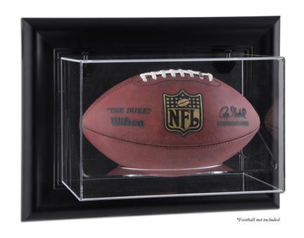 Framed Wall Mounted Football Display Case