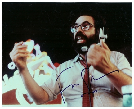 "Francis Ford Coppola Autographed 8"" x 10"" Photograph (Unframed)"