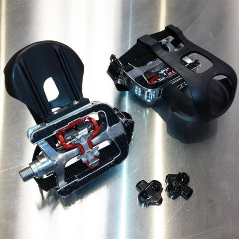 Frequency Fitness F-3231 Indoor Cycle Add on SPD Pedals - Black