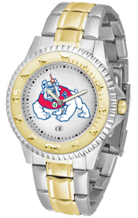 Fresno State Bulldogs Competitor Two Tone Watch