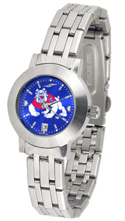 Fresno State Bulldogs Dynasty AnoChrome Ladies Watch