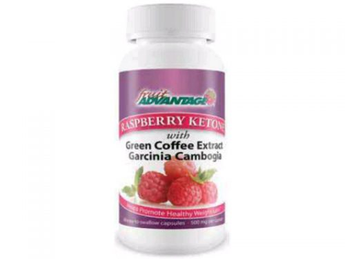Fruit Advantage 1507284 Fruit Advantage Weight Management - Raspberry Keytone - 60 Capsules