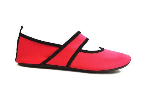 Futsole 2250 Travel Shoes Pink Extra Large Fits Shoe Size 10-11
