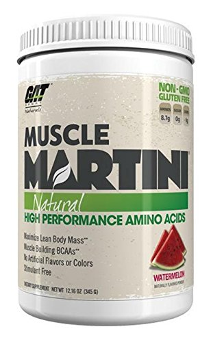 GAT 370118 Muscle Martini Natural Watermelon - 30 Serving