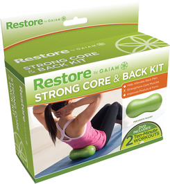 Gaiam 25964 Strong Core And Back Kit - Green