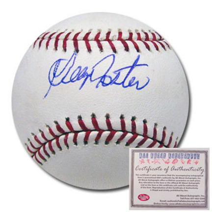 George Foster Autographed Rawlings MLB Baseball