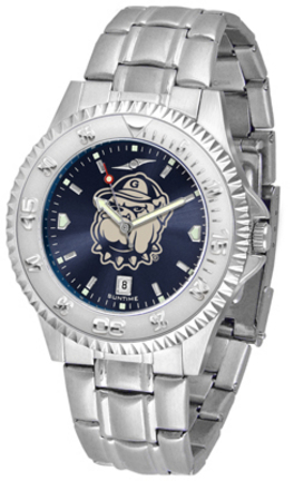 Georgetown Hoyas Competitor AnoChrome Men's Watch with Steel Band