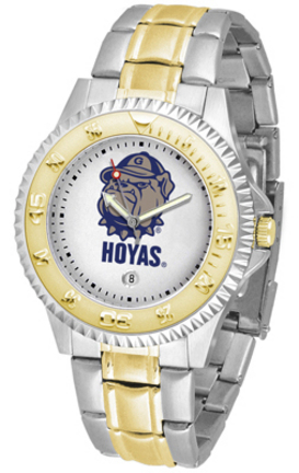 Georgetown Hoyas Competitor Two Tone Watch