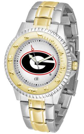 Georgia Bulldogs Competitor Two Tone Watch