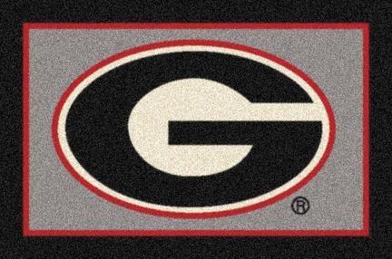 "Georgia Bulldogs ""G"" 3'10""x 5'4"" Team Spirit Area Rug"