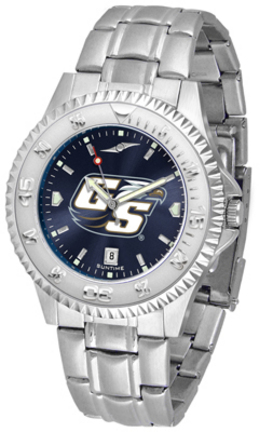 Georgia Southern Eagles Competitor AnoChrome Men's Watch with Steel Band