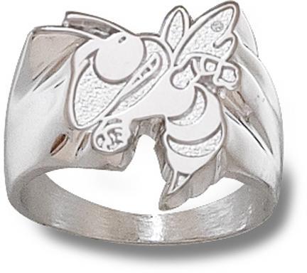 "Georgia Tech Yellow Jackets ""Buzz"" Men's Ring Size 10 1/2 - Sterling Silver Jewelry"