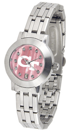 Georgia Tech Yellow Jackets Dynasty Ladies Watch with Mother of Pearl Dial