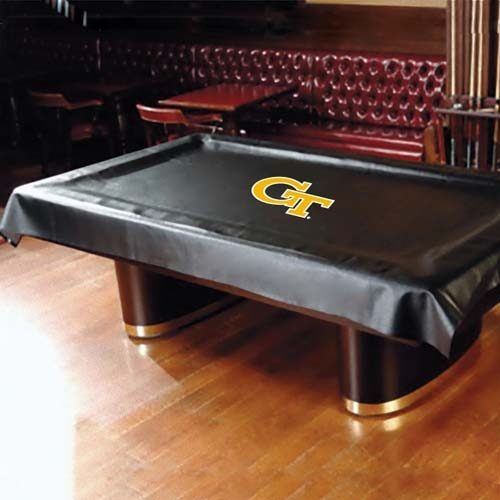 Georgia Tech Yellow Jackets MVP Universal Fit Billiard Table Cover