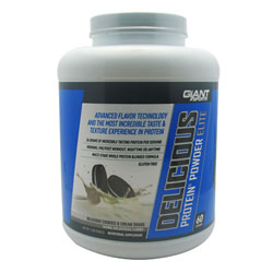 Giant Sports Products 6630024 5 Lbs. Delicious Protein Elite Cookies And Creme