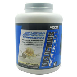 Giant Sports Products 6630028 5 Lbs. Delicious Protein Elite Vanilla