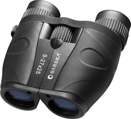 Gladiator 9-27x25 Zoom Binocular with Blue Lens