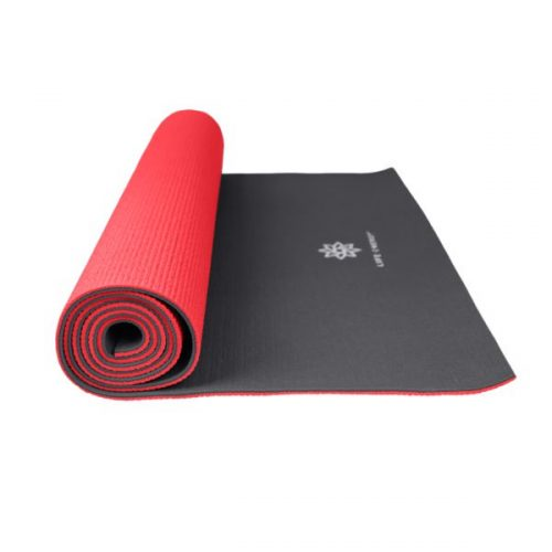 Global Quality Brands 3300YM Life Energy Reversible Yoga Mat Ruby