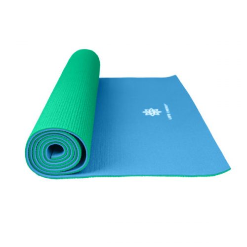 Global Quality Brands 3301YM Life Energy Reversible Yoga Mat Emerald