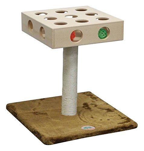 Go Pet Club SF061 Cat Tree Scratcher Furniture - 13.3 x 13.3 x 15.25 in.