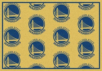"Golden State Warriors 2' 1"" x 7' 8"" Team Repeat Area Rug Runner"