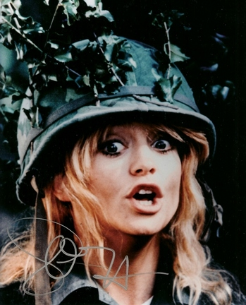 "Goldie Hawn Autographed 8"" x 10"" Photograph (Unframed)"