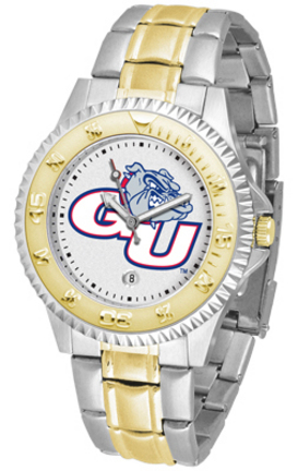 Gonzaga Bulldogs Competitor Two Tone Watch