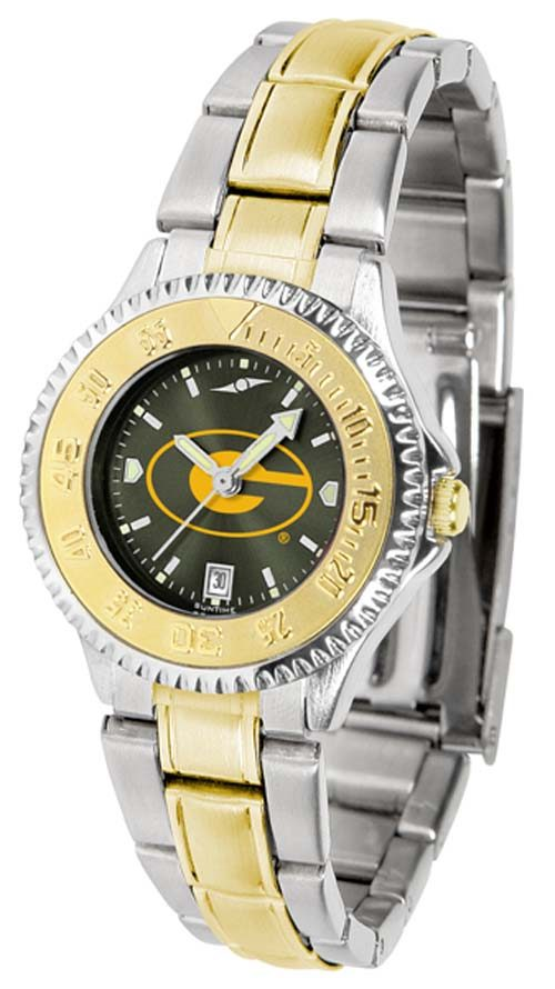 Grambling State Tigers Competitor AnoChrome Ladies Watch with Two-Tone Band
