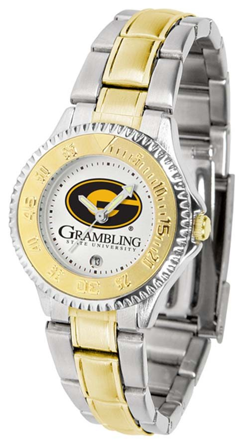 Grambling State Tigers Competitor Ladies Watch with Two-Tone Band