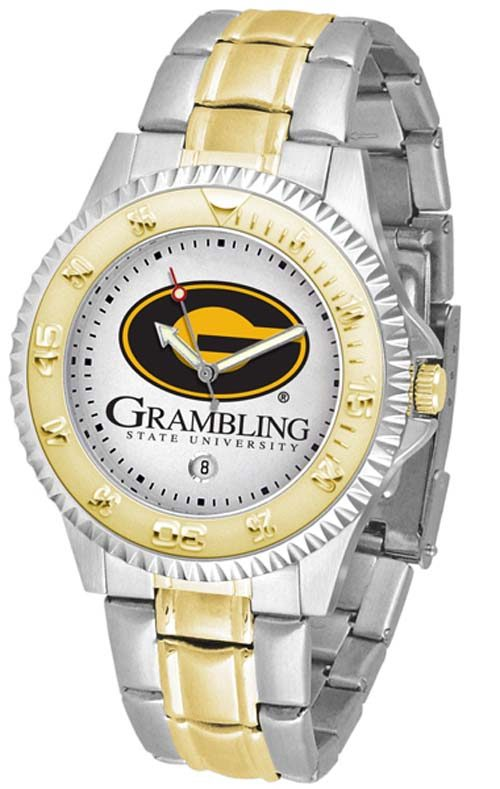 Grambling State Tigers Competitor Two Tone Watch