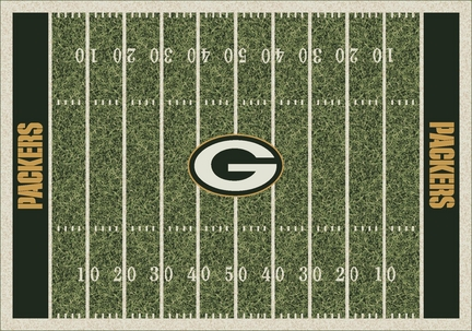 "Green Bay Packers 3' 10"" x 5' 4"" Home Field Area Rug"