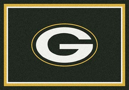 "Green Bay Packers 3' 10"" x 5' 4"" Team Spirit Area Rug (Green)"