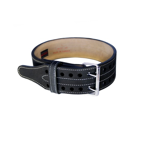 Grizzly Fitness 4007175 4 in. Double Prong Powerlifting Belt - Large