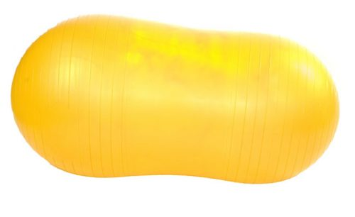 Gym Roller 45cm with Pump - Yellow