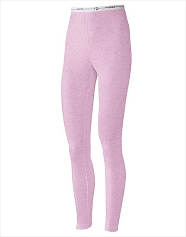 Hanes KWM2 Duofold Originals Mid-Weight 2-Layer Womens Thermal Underwear Size Medium Berry Pink Heather