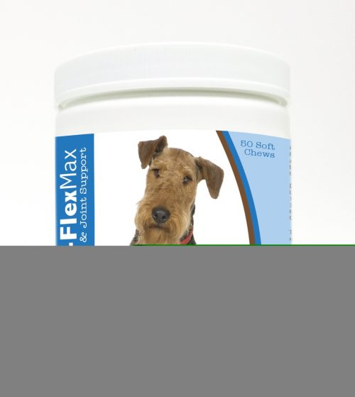 Healthy Breeds 840235100430 Airedale Terrier Z-Flex Max Hip & Joint Soft Chews - 50 Count