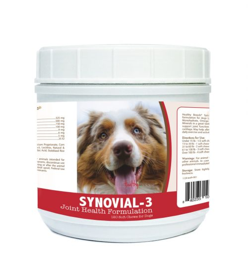 Healthy Breeds 840235101246 Australian Shepherd Synovial-3 Joint Health Formulation - 120 Count