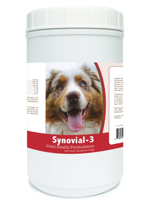 Healthy Breeds 840235101253 Australian Shepherd Synovial-3 Joint Health Formulation - 240 Count