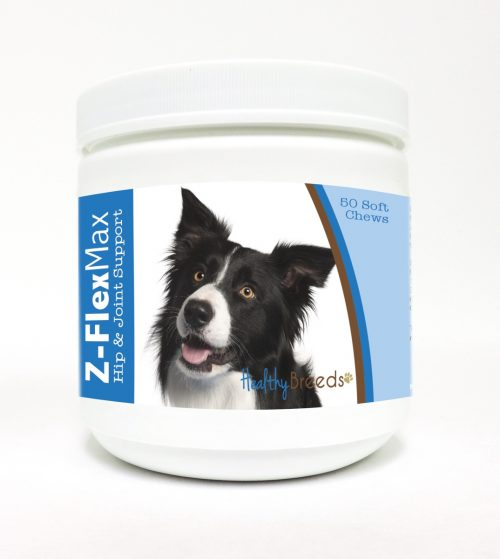 Healthy Breeds 840235101543 Border Collie Z-Flex Max Hip & Joint Soft Chews - 50 Count