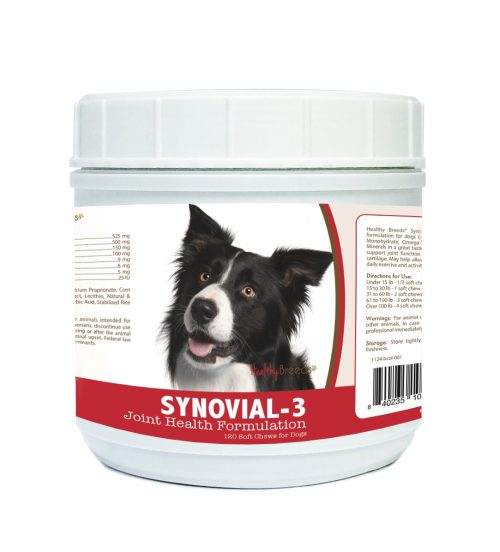 Healthy Breeds 840235101574 Border Collie Synovial-3 Joint Health Formulation - 120 Count