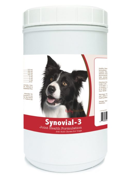Healthy Breeds 840235101581 Border Collie Synovial-3 Joint Health Formulation - 240 Count