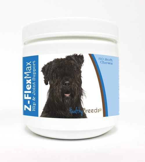 Healthy Breeds 840235101703 Bouvier des Flandres Z-Flex Max Hip & Joint Soft Chews - 50 Count